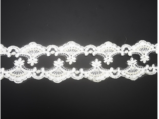 China Decorative lace with sequin beads. Vintage wedding / bricolage DIY handmade sewing decorative ribbon factory