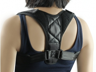 China Good Quality Adjustable Back Posture Corrector Posture Support Brace Simple Hunchback Correction Band factory