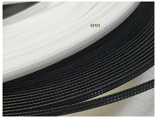 China China Factory Small Size Rigilene Polyester Boning Suppliers Wholesale China Rigilene Polyester Boning for Wedding Dress China Suppiers 5mm Width Polyester Boning for Evening Dress factory