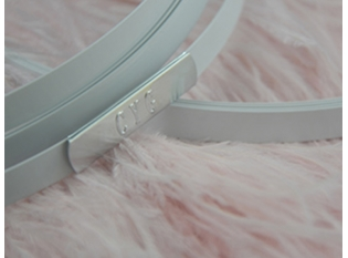 China China Corset Boning Supplier Flat Steel Bone Hoop Boning For Petticoat 6MM Wide factory